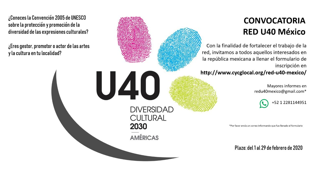 CONVOCATORIA Red U40 Mexico